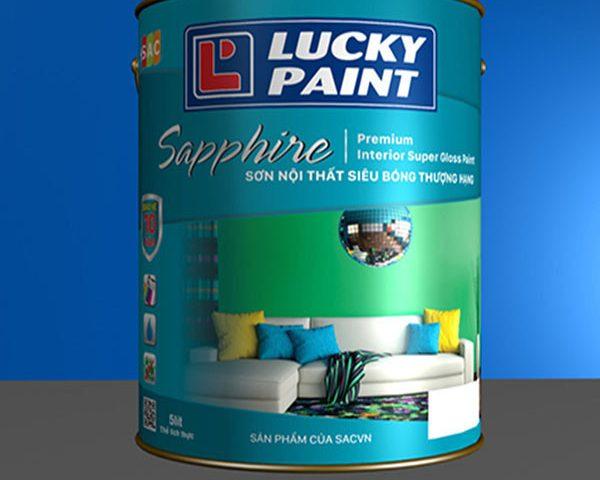 Đẹp ấn tượng với sơn nội thất màu xanh rêu