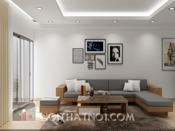 bàn ghế phòng khách hiện đại