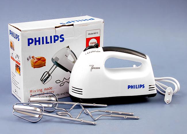 Máy đánh trứng cầm tay Philip 6610 là sản phẩm tiện ích