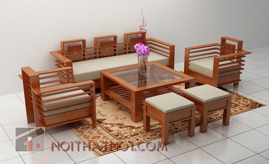 mẫu bàn ghế gỗ hiện đại cao cấp