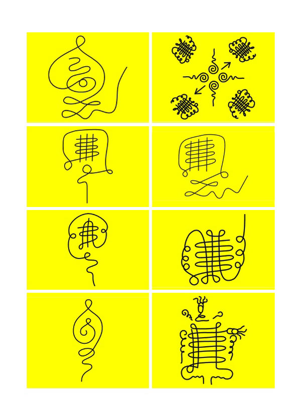 Bùa Chú Chà Kha - 10 Chữ Bùa Tổ