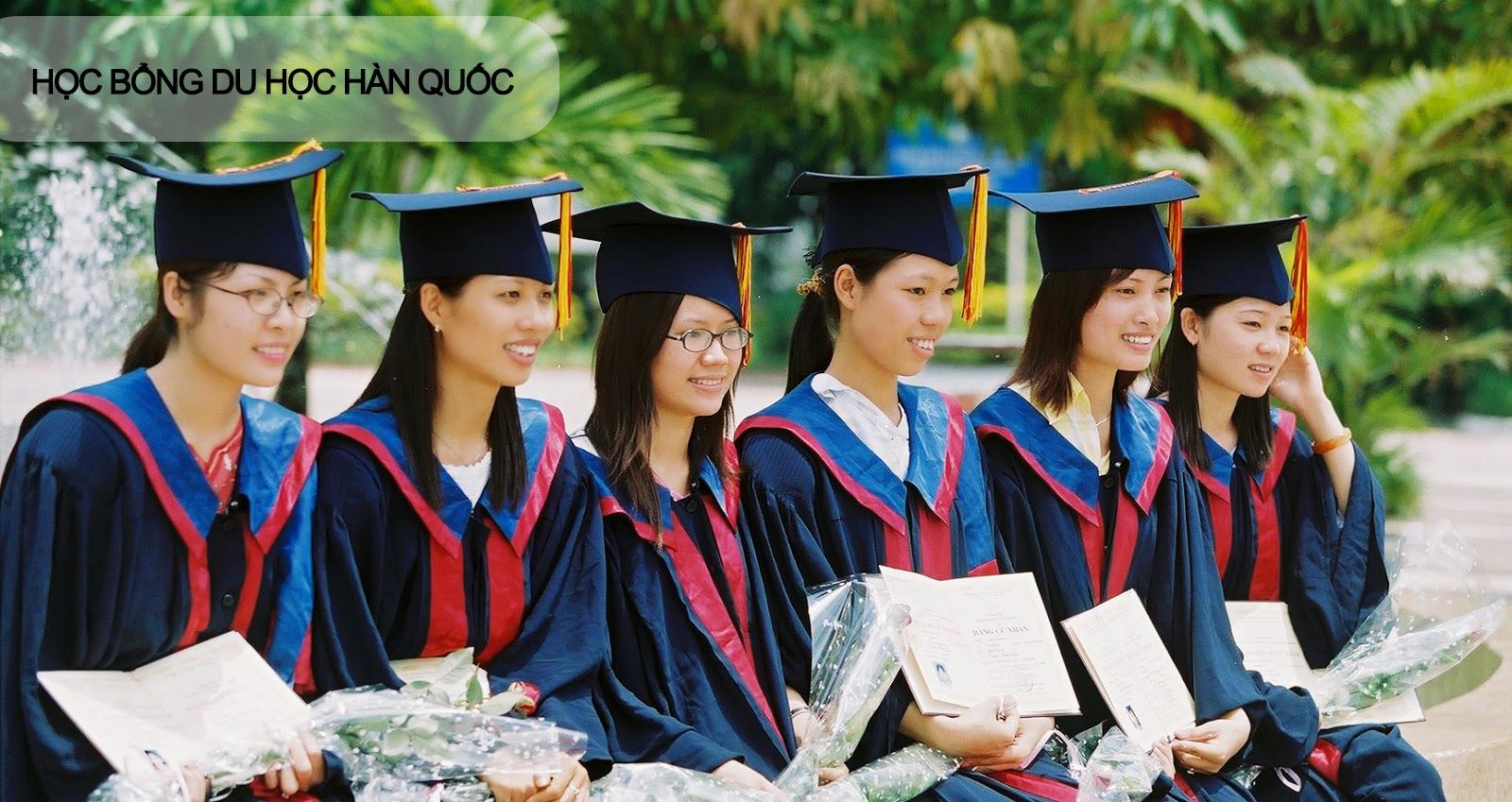 Học bổng các trường đại học Hàn Quốc