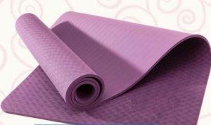 Thảm Tập Yoga TPE có thiết kế dày dặn tạo cảm giác thoải mái cho người sử dụng