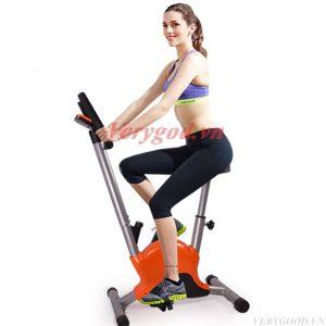 Xe đạp tập thể dục tại nhà Orange giúp bạn có vóc dáng cân đối