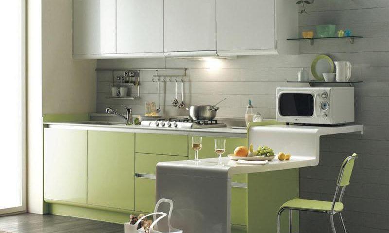 Những gợi ý giúp căn bếp nhỏ hẹp trở nên rộng thoáng hơn