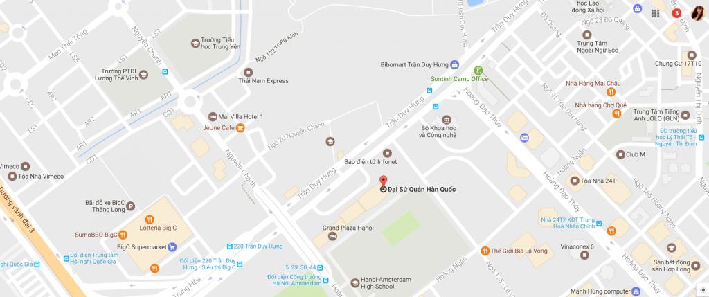 Lãnh sự quán Hàn Quốc tại Hà Nội