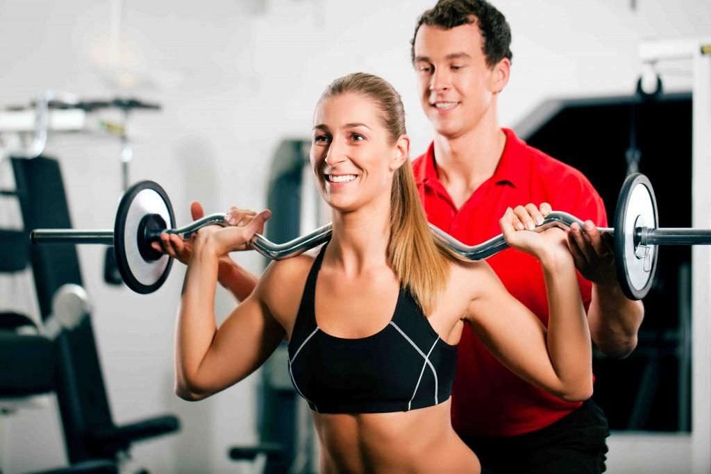 Tập thể hình tại phòng Gym sẽ được hướng dẫn bài bản