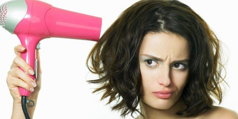 Bạn đã sấy tóc đúng cách?