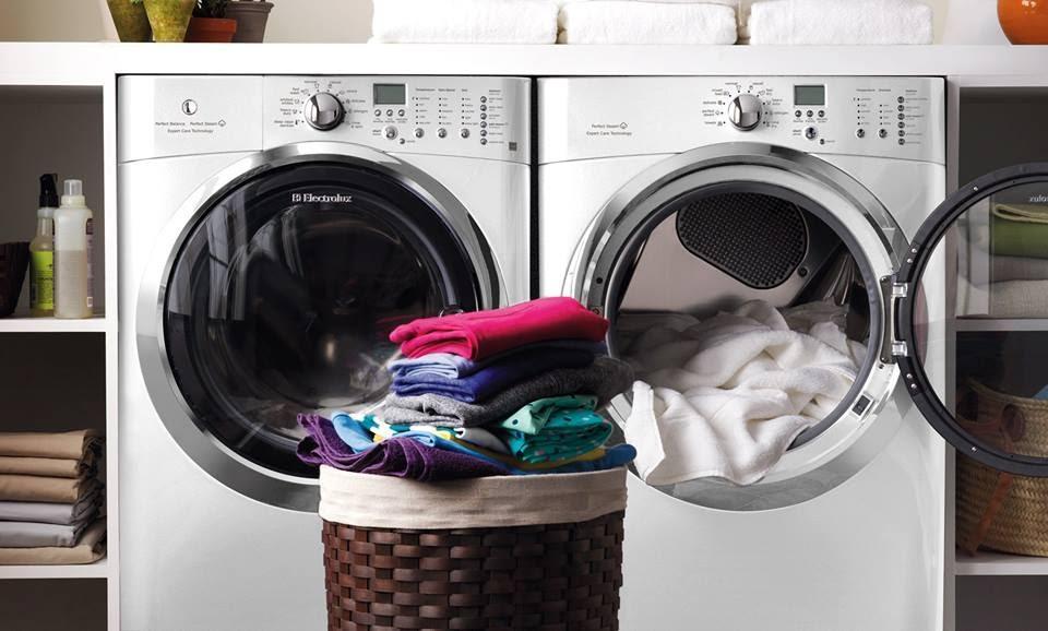 Công dụng sấy quần áo của máy giặt