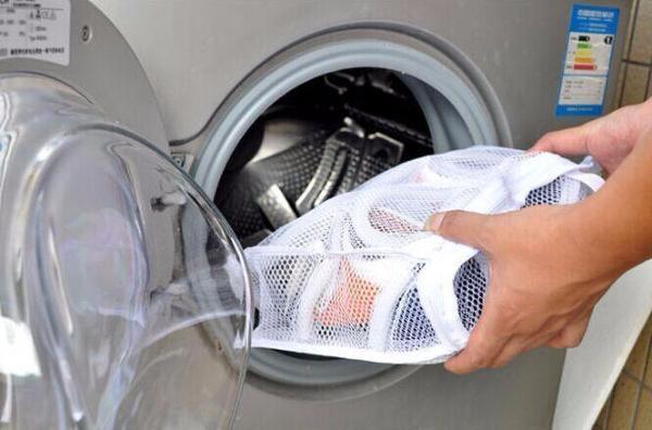 Sử dụng túi giặt khi giặt máy