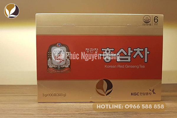 Trà hồng sâm Hàn Quốc KGC chính hãng.