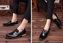 Chọn giày nam cho người có thân hình thấp bé