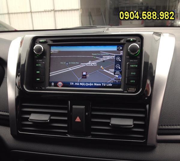 Đầu DVD Toyota Vios.