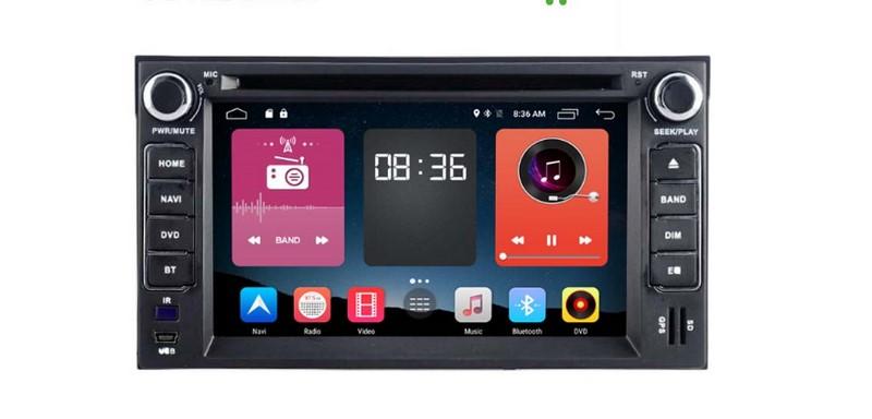 kết nối điện thoại android với đầu dvd ô tô