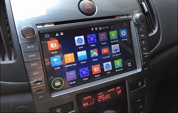 Màn hình DVD Android rất hữu ích đối với người lái xe