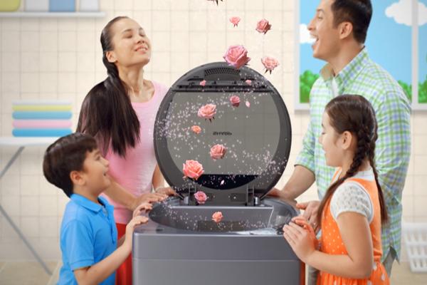 Thời điểm thích hợp cho nước xả vải vào máy giặt?