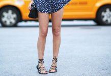 """Sandal cho cô nàng """"chân ngắn"""""""
