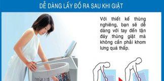 Máy giặt lồng nghiêng tốt không?