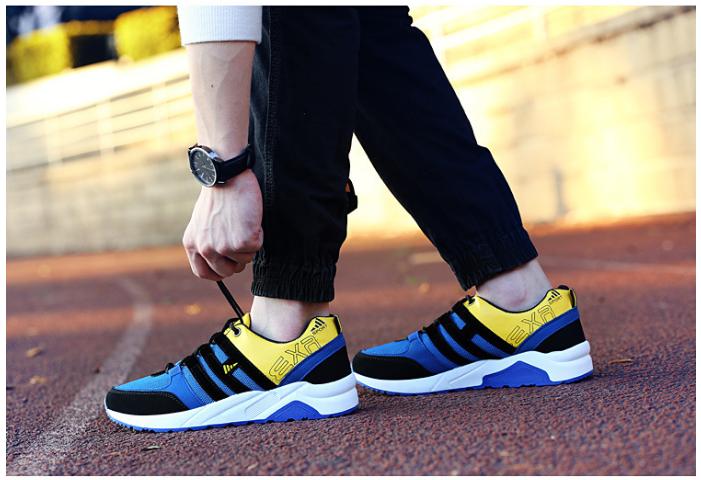 Giày thể thao có thiết kế với màu sắc cá tính, nổi bật