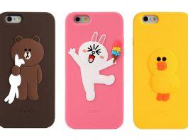Ốp lưng Iphone 6, iphone 6s plus gấu có dây đeo