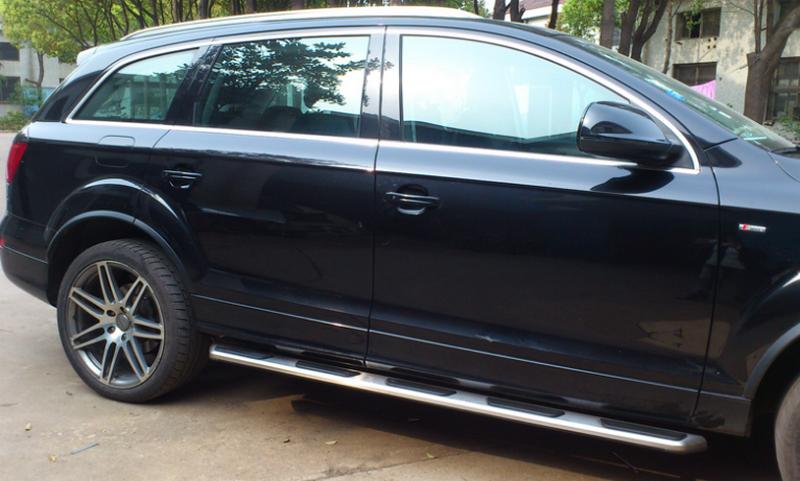 Tiến Dịu Auto - chuyên cung cấp các loại bậc dẫm lên xuống cho Audi