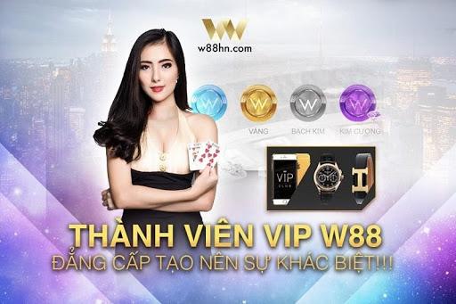 Trở thành W88 VIP với nhiều ưu đãi đặc biệt